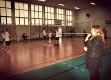 Mikołajkowy mecz - nauczyciele vs uczniowie