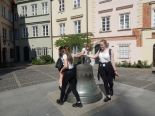 Uczniowie III LO w Łomży i Gimnazjum w Butrymańcach Razem dla Niepodległej